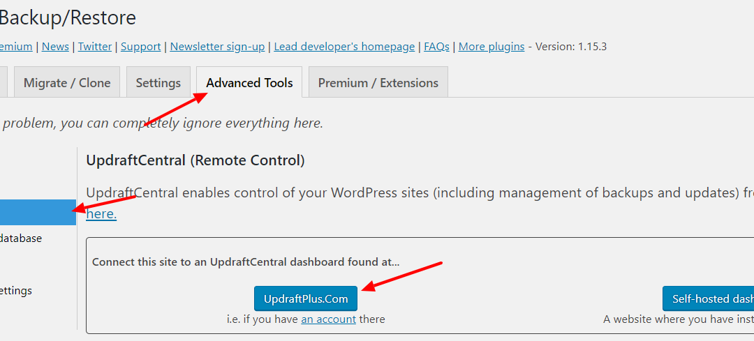 How to approve comments on all the sites you manage from one location using UpdraftCentral